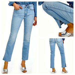 J.Crew Vintage Straight Blue Jeans 👖 Size 24